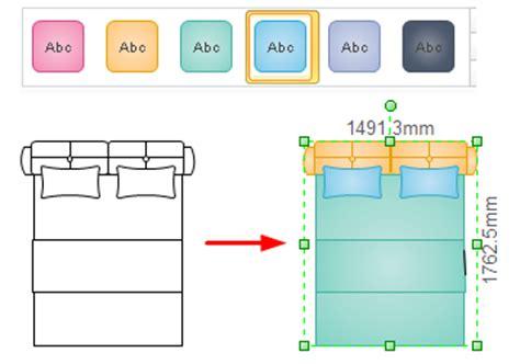 bed floor plan symbols for floor plan bedroom