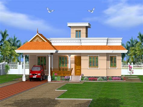 a 1 story house 2 bedroom design kerala 3 bedroom house plans kerala house designs one
