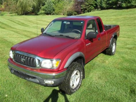 2002 Toyota Tacoma Parts Buy Used 2002 Toyota Tacoma Salvage For Parts Only Unsafe