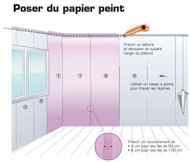 Poser Tapisserie Avec Raccord by Pose Du Papier Peint Intiss 233 Les Briconautes