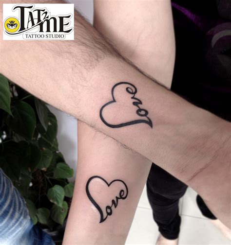 couple tattoo love this s day reignite the spark of by