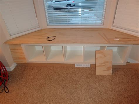 how to build bay window bench build storage bench window seat discover woodworking