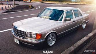 Mercedes It Lowered Mercedes S Class W126 Side