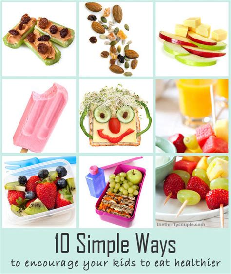 10 Ways To Eat More Healthy by 10 Simple Ways To Get To Eat Healthy