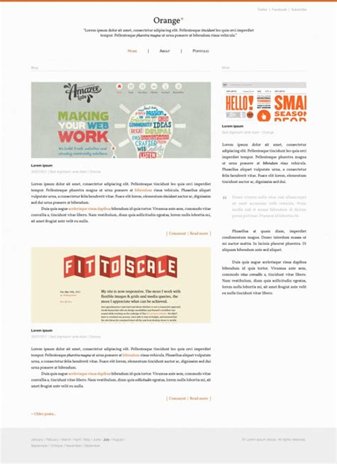 blog layout template psd 6 free psd templates for blog design
