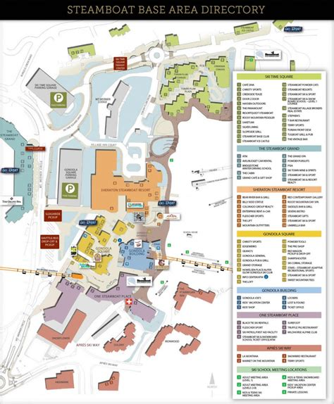 map of colorado steamboat springs map
