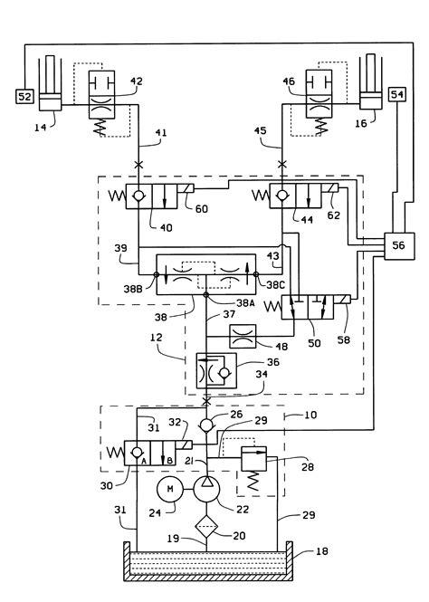 electric hydraulic wiring diagram 308