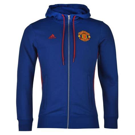 Vest Hoodie Manchester United Fc 18 adidas mens gents manchester united fc hoodie zipped hoody