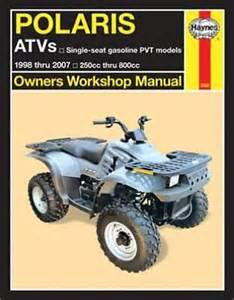 1995 polaris 300 2x4 atv repair manual