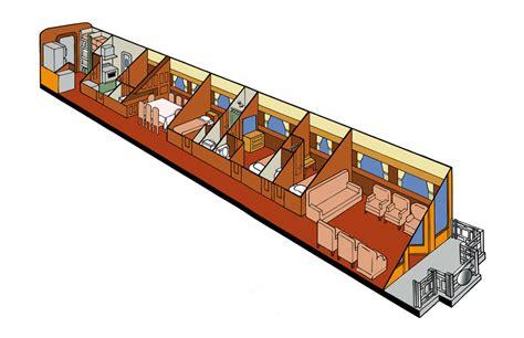 Six Bedroom Floor Plans Private Rail Car Kansas Platform Car The Kansas