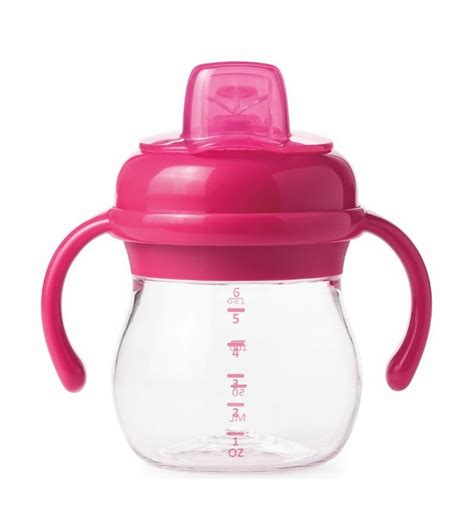 Richell Cup Baby With Two Handle Cangkir Baby Dengan 2 Pegangan oxo tot transitions soft spout sippy cup with removable handles 6 oz