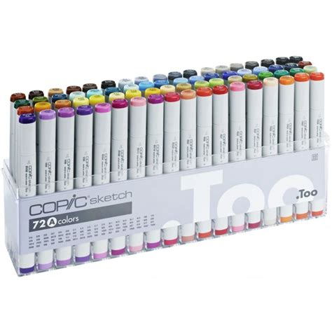Copic Set 72 Sketch A copic sketch marker 72 set a sketching equipment from graff city ltd uk