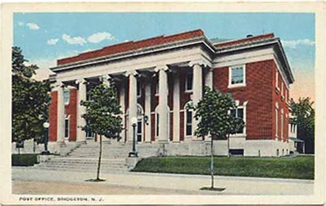 Bridgeton Post Office by Cumberland County Nj Picture Postcards And Images Page 23