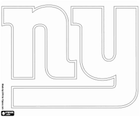 nfl giants coloring pages nfl logos coloring pages printable games