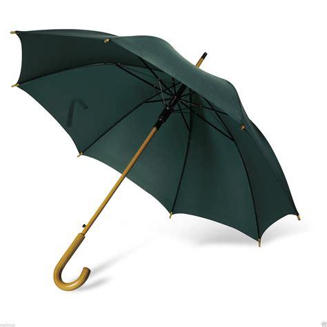 wandlen mit holz klassisch automatischer regenschirm mit holz gebogener