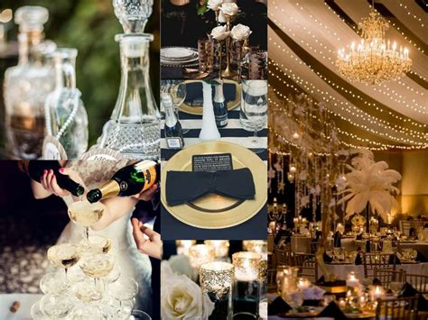 marriage theme in the great gatsby great gatsby wedding decor caa speakeasy pinterest