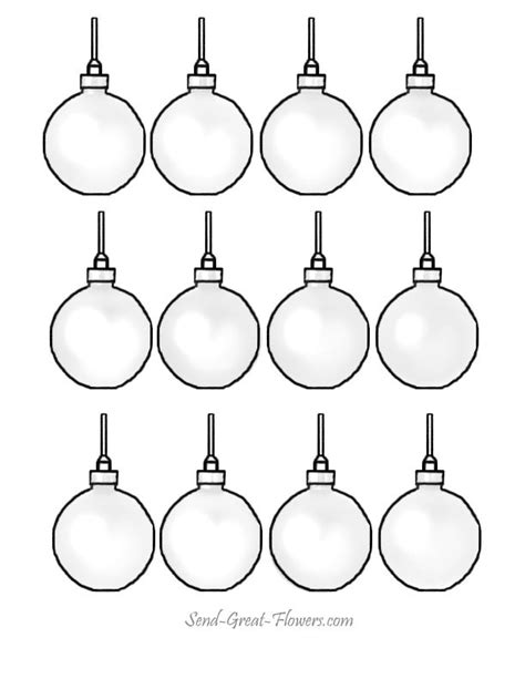 printable ornaments to color and cut christmas tree ornaments coloring pages coloring home