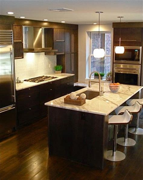 Dark Kitchen Cabinets With Dark Floors | designing home thoughts on choosing dark kitchen cabinets