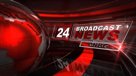 24 News Broadcast Template Youtube News Broadcast Template