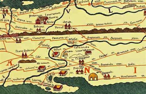 tavola peutingeriana alliphae org mappe tabula peutingeriana