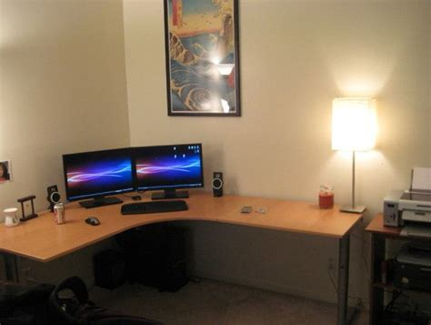 25 great ideas about ikea gaming desk on