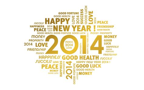 wishes for the new year 2014 wallpapers and images