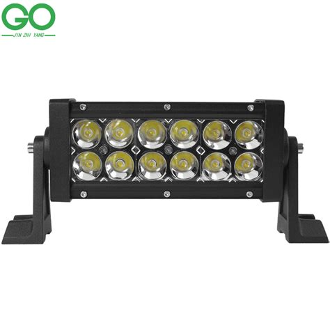 Lu Led Offroad Led Work Light Bar 36w Bridgelux Chip For Indicators Motorcycle Driving Offroad Boat Car Tractor