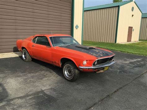 ford mustang fastback sport roof project car  sale