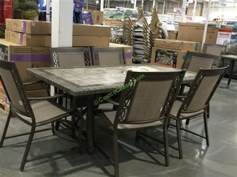 Agio International Patio Furniture Costco Review Modern Patio Dining Sets Costco