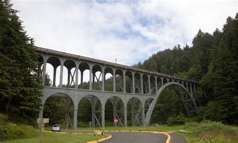 Csudh Mba Bridge Courses by 1 823 Mile Oregon Coast Tesla Road Trip Tom Saxton S