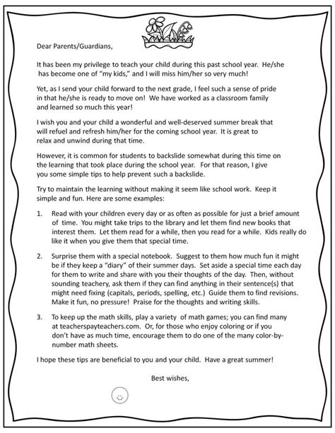 Parent Letter Book Report 95 best images about 4th grade end of year on