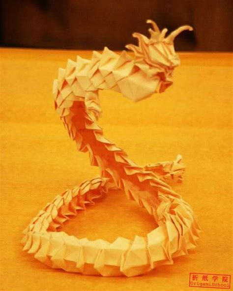 3d origami chinese dragon tutorial chinese dragon origami tutorial crochet pinterest