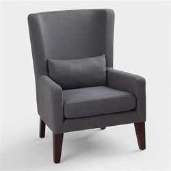 Dove gray triton high back chair world market
