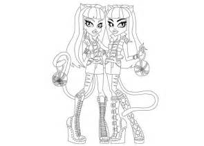 Coloring Pages For Girls Monster High  Bestofcoloringcom sketch template