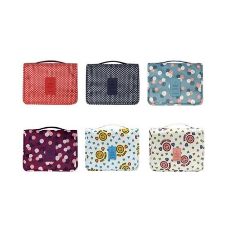 Korean Pouch Gantung korea travel hanging gantung toiletry kosmetik pouch bag