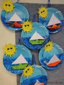 sommer dekoration basteln gemi etkinlikleri okul 214 ncesi etkinlik faliyetleri