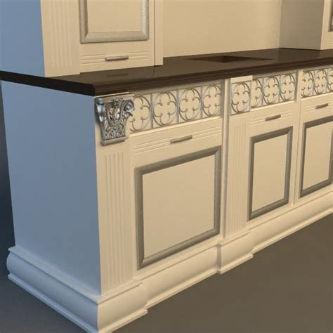kitchen cabinet 3d kitchen cabinet 3d model cgstudio