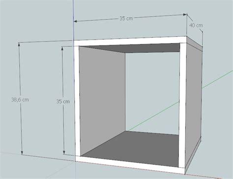 costruire comodino cubo legno fai da te tavolo consolle allungabile