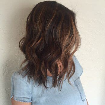 medium brown hair balayage pictures to pin on pinterest medium length brown hair with balayage hair options