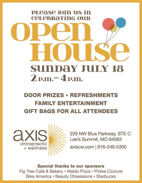 join our open house celebrating the lee s summit community