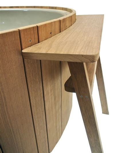 tub side table side table for dutchtub wood weltevree