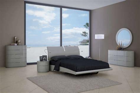 contemporary gray bedroom sets
