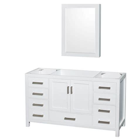wyndham collection medicine cabinet wyndham collection sheffield 59 in vanity cabinet with