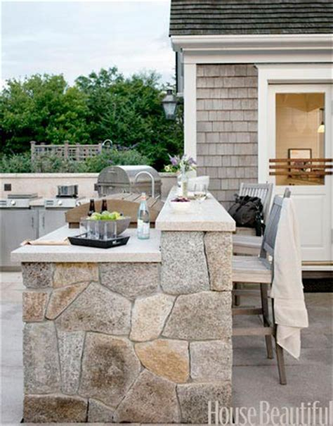 love the bar height added to this outdoor kitchenapplepins com