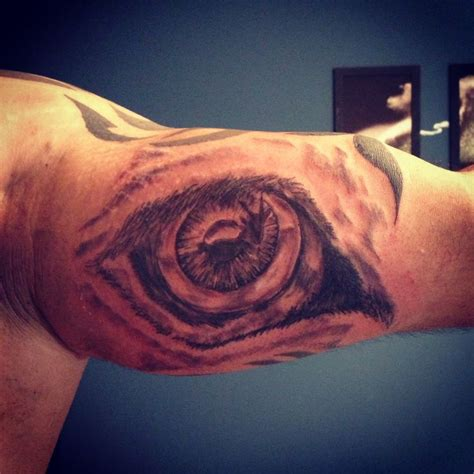 lion eyes tattoo eye