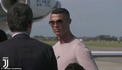 ronaldo juventus daily mail cristiano ronaldo touches in turin ahead of juventus unveiling daily mail