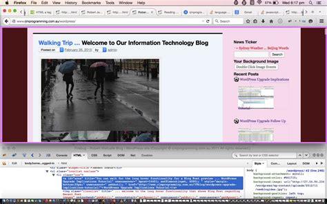 tutorial update wordpress wordpress upgrade links tutorial robert james metcalfe blog