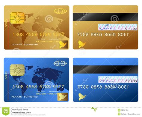 credit card stock vector image of platinum internet