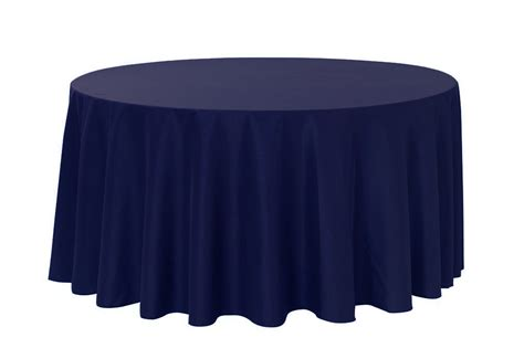 Navy Blue Table L 120 Inch Navy Blue Polyester Tablecloths For Weddings Bridal Tablecloths