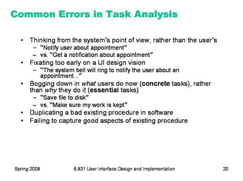 Task L by 6 831 L5 Task Analysis